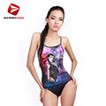 義大利DIANA成人時尚連身泳裝-N110011送美國Barracuda泳鏡