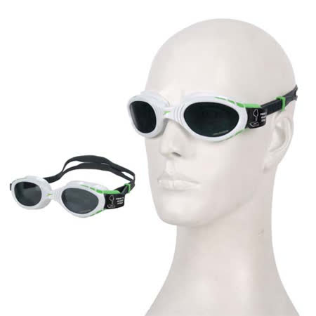 (女) SPEEDO FUTURA BIOFUSE 用偏光游泳鏡 白灰 F -friDay購物 x GoHappy