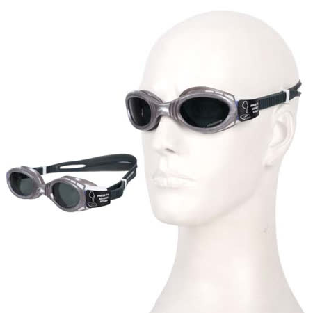 (女) SPEEDO FUTURA BIOFUSE 用偏光游泳鏡 銀藍 F -friDay購物 x GoHappy
