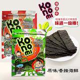 泰國 Konomi 相撲手超大片烤海苔 原味/香辣海鮮 48g