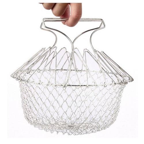 【AKWATEK】 萬用304不鏽鋼廚師籃