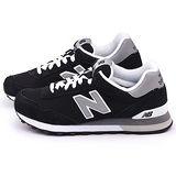 New Balance 男款 麂皮復古運動鞋ML515COE-黑