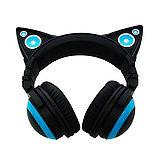 Axent Wear 貓耳耳機 Headphones LED設計 (綠色)-【送華碩滑鼠+精密鎖邊大鼠墊】