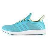 adidas 女 CC SONIC W 愛迪達 慢跑鞋 藍/綠 -AQ4715
