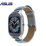 ASUS ZenWatch 2 女錶施華洛世奇快充 真皮晶鑽藍(小錶)