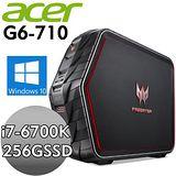 Acer宏碁Predator G6-710【赤焰火龍】i7-6700K 8G*2 256GSSD 2T GTX980-4G W10頂級電競旗艦電腦