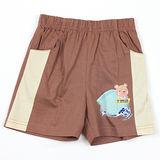 【愛的世界】MYBABY 電影嘉年華系列鬆緊帶純棉短褲/1~2歲-台灣製-