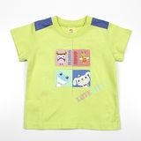 【愛的世界】MYBABY 電影嘉年華系列純棉圓領短袖T恤/1~2歲-台灣製-