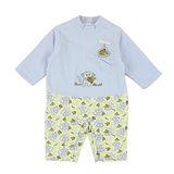 【愛的世界】LOVEWORLD 小猴子系列搖粒絨長袖衣連褲/6個月~1歲-台灣製-
