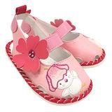 【愛的世界】LOVEWORLD 田園小雞寶寶鞋/涼鞋/13CM~15CM-台灣製-