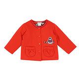 【愛的世界】LOVEWORLD 俄羅斯娃娃系列純棉舖棉兩面穿外套/6~8歲-台灣製-