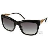 BURBERRY太陽眼鏡 Gabardine系列經典女款(黑) #BU4207F 30018G