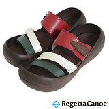 RegettaCanoe (女款)CJBF-5149優雅樂步休閒鞋-綠白紅