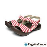 RegettaCanoe (女款)CJFD-5322優雅樂步休閒鞋-亮眼紅