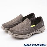 SKECHERS (男) 健走系列 GO Walk 3 - 54053BRN