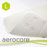 【MICRODRY時尚地墊】aerocore 3D舒適浴缸墊-(珍珠白L)