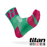 Titan 功能慢跑襪Race[綠]