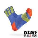 Titan 功能慢跑襪Race[藍]