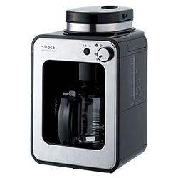 【日本siroca】 crossline自動研磨咖啡機 STC-408