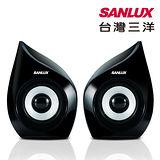 台灣三洋SANLUX SYSP-235 2.0聲道USB多媒體喇叭