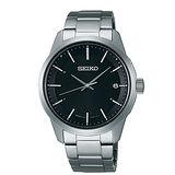 SEIKO 簡約時尚太陽能電波男用腕錶-40mm/7B24-0BJ0D(SBTM233J)