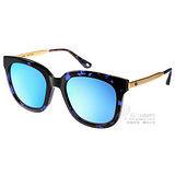Go-Getter太陽眼鏡 韓版時尚熱銷水銀鏡面款(琥珀-金-藍水銀) #GS4001 C08