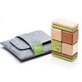美國 Tegu 無毒安全磁性積木 - 口袋系列 經典款 (叢林)