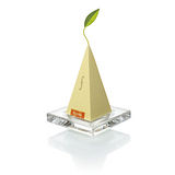 【Tea Forte】2入玻璃方型茶托 GLASS TEA TRAY