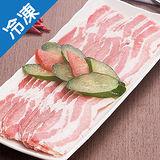 台糖安心豚白玉五花肉片1盒(豬肉)(200g±5%/盒)