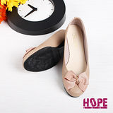 【HOPE】MIT優雅防潑水低跟包鞋–芋(K110BF3033)