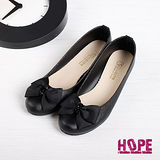 【HOPE】MIT優雅防潑水低跟包鞋–黑(K110BF3033)