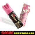 SABRE沙豹防身噴劑-粉紅迷彩皮套