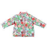 【愛的世界】LOVEWORLD 金魚系列鋪棉半高領兩面穿外套/2~4歲-台灣製-