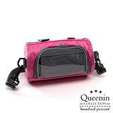 DF Queenin - 樂活可觸控隨身單車包斜背包-共3色