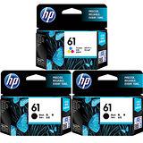 【HP】CH561WA + CH562WA/NO.61  原廠墨水匣 超值組合 (二黑 +一彩)