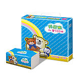 【Benibear 邦尼熊】抽取式花紋衛生紙150抽x80包/箱