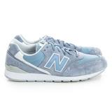New Balance 男/女鞋 經典復古鞋 紫/藍/白MRL996LJ