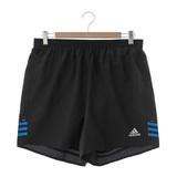 Adidas 男 慢跑短褲藍/黑AI9252