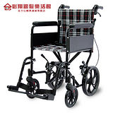 【必翔銀髮】PH-163C輕便型移位式看護型輪椅(未滅菌)