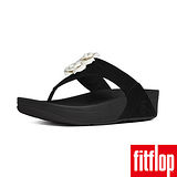 FitFlop™-(女款)BLOOM™ TOE-POST-黑/白