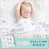 【荷蘭 Muslin tree】新款寶寶薄棉被多功能雙層紗布包巾