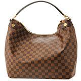 Louis Vuitton LV N41861 Duomo Hobo 棋盤格紋單把拉鏈肩背包 預購