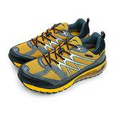 【男】GOOD YEAR 專業越野防水氣墊慢跑鞋 獵豹系列 waterproof 黃黑銀 63514