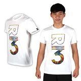 (男) ADIDAS 短袖T恤- 慢跑 路跑 愛迪達 棉T 白紅黃