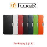 ICARER 奢華系列 iPhone6 / 6S 磁扣側掀 手工真皮皮套