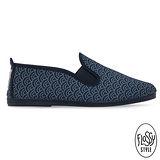 Flossy-(女款)MORGAN西班牙方便鞋-海軍藍