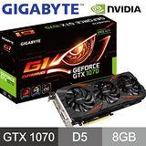 技嘉 GV-N1070G1 GAMING-8GD 顯示卡(GTX1070)