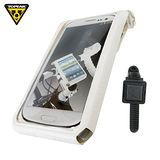 TOPEAK SmartPhone DryBag 5 智慧型手機套 白 (適4~5吋/束帶型固定座)