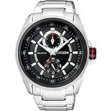 CITIZEN METAL 專屬的你時尚腕錶-黑/43mm BU3004-54E