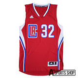 ADIDAS (男) 愛迪達 INT SWINGMAN #32 CLIPPERS 球衣 紅-AT1414
